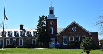 Exterior of Alden Terrace Elementary School