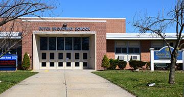 Exterior of Dutch Broadway Elementary School